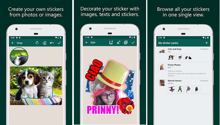 StickersApp: Create and Share Stickers & Memes
